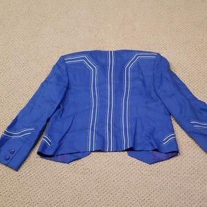 louis Feraud Jackets & Coats - Linen short blazer